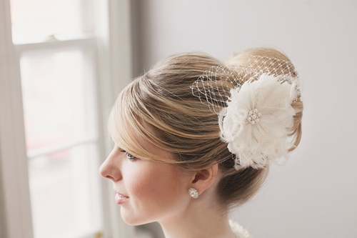 The Beautiful Summer Hairstyle For The Bride